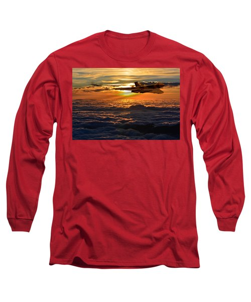Vulcan Bomber Sunset 2 Long Sleeve T-Shirt