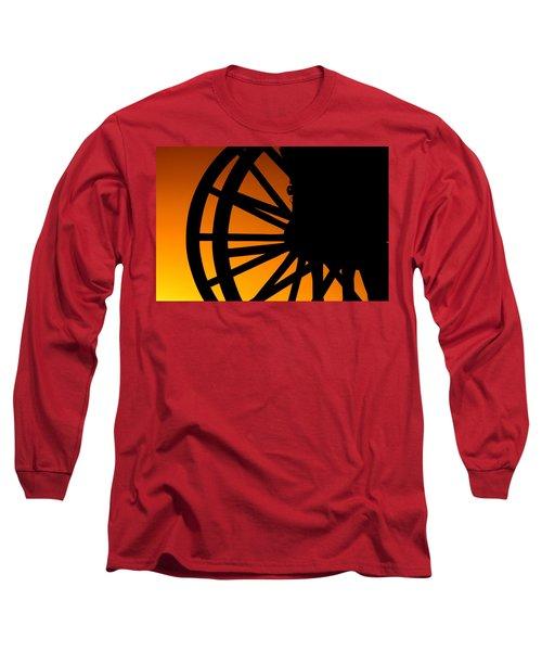 Wagon Wheel Sunset Long Sleeve T-Shirt