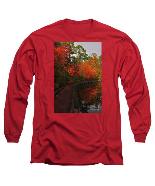 Walk Into Fall Long Sleeve T-Shirt