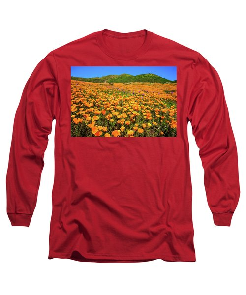 Walker Canyon Wildflowers Long Sleeve T-Shirt