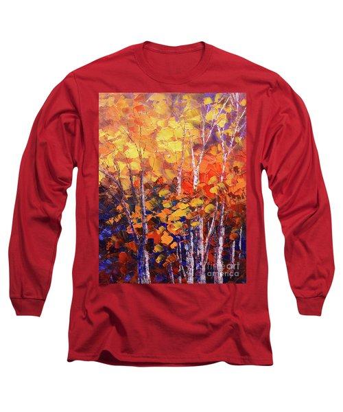 Warm Expressions Long Sleeve T-Shirt by Tatiana Iliina