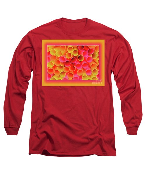 Long Sleeve T-Shirt featuring the photograph Warm In Neon By Kaye Menner by Kaye Menner