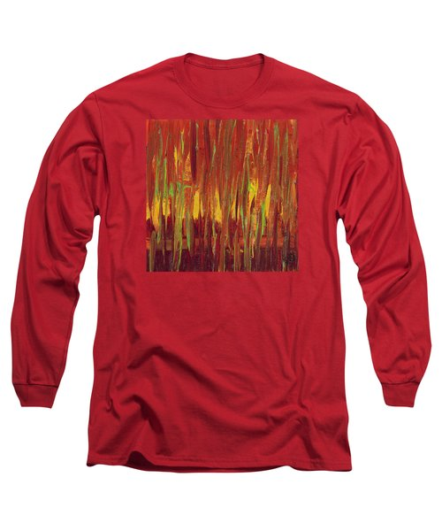 Warm Tones Long Sleeve T-Shirt