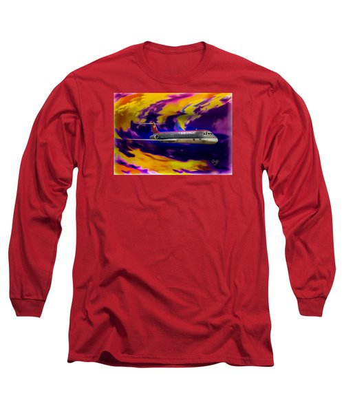 Warp 7 Long Sleeve T-Shirt by J Griff Griffin