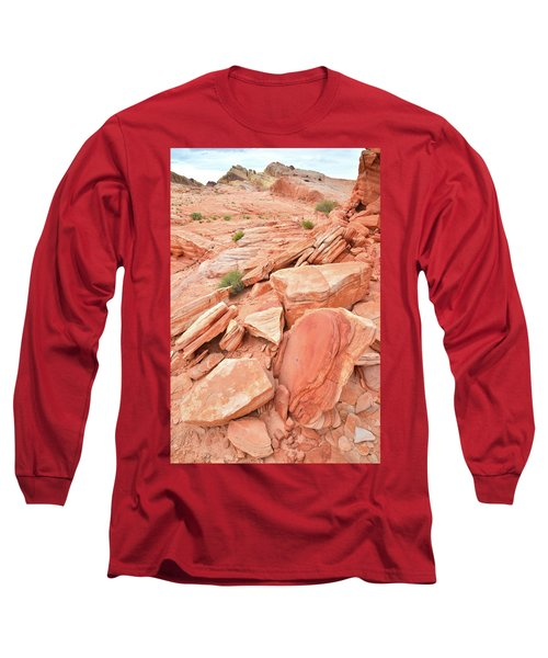Long Sleeve T-Shirt featuring the photograph Wash 4 Color In Valley Of Fire by Ray Mathis