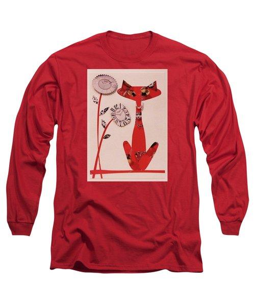 Watch-cat Long Sleeve T-Shirt