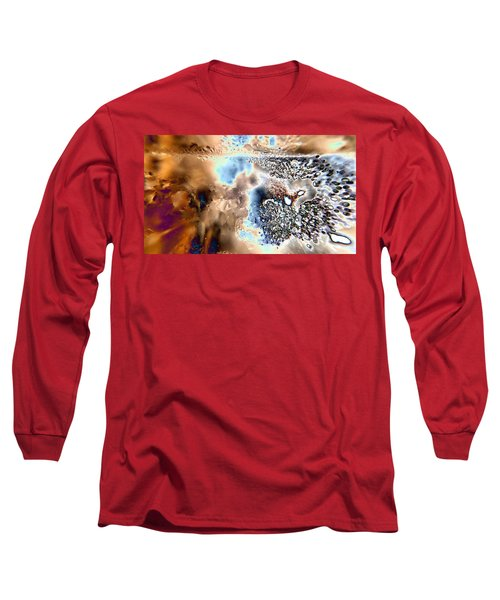 Water Abstract 9 Long Sleeve T-Shirt