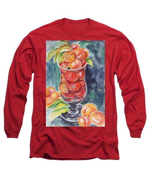 Watercolor Series No. 214 Long Sleeve T-Shirt