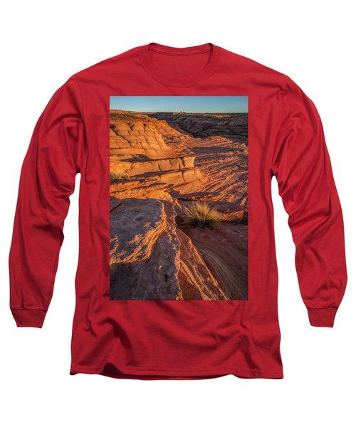 Waterhole Canyon Sunset Vista Long Sleeve T-Shirt