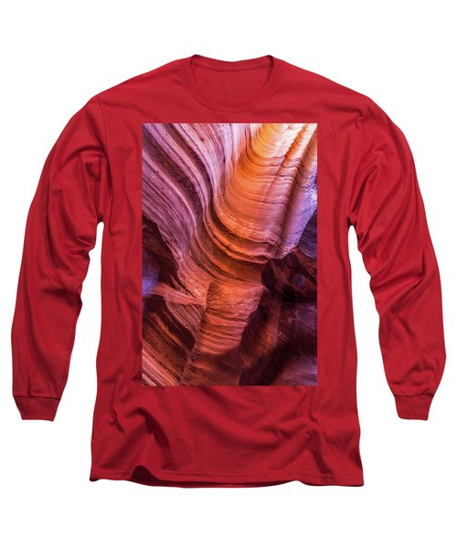 Waterholes Canyon Ribbon Candy Long Sleeve T-Shirt
