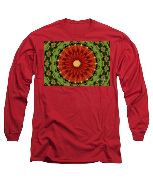 Watermelon Delight Long Sleeve T-Shirt by Sheila Ping