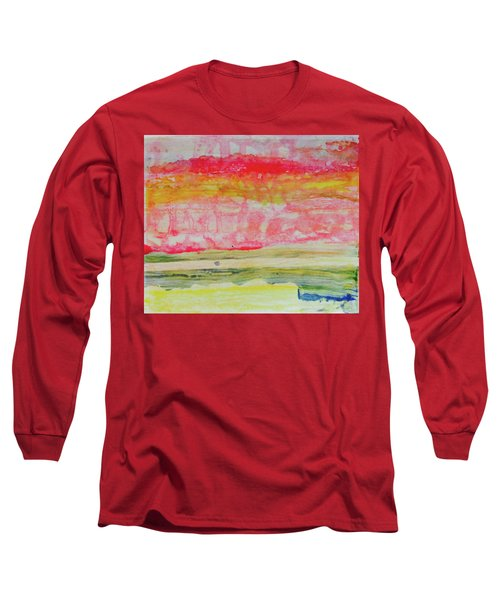 Watery Seascape Long Sleeve T-Shirt