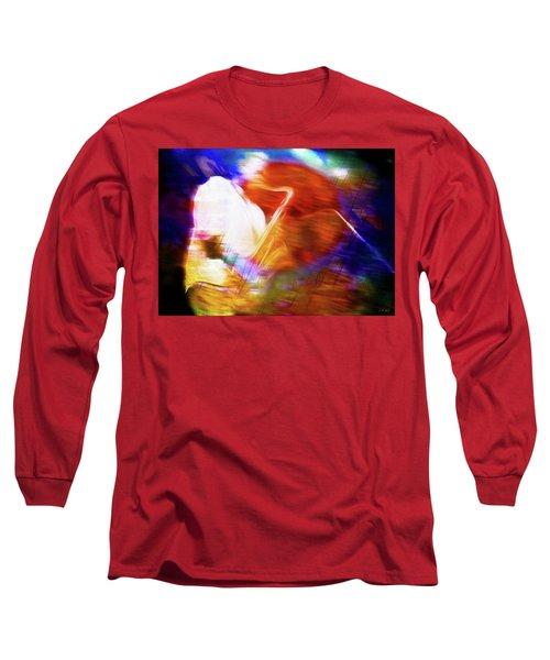 Wayne Shorter   Digital Watercolor Paintings Long Sleeve T-Shirt