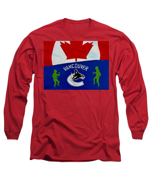 We Are All Canucks Long Sleeve T-Shirt