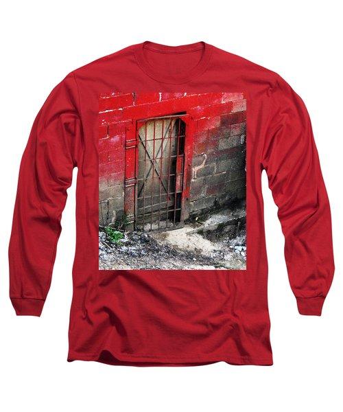What Lies Behind The Door Long Sleeve T-Shirt