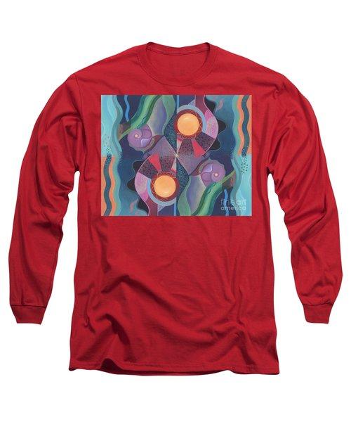When Deep And Flow Met Long Sleeve T-Shirt