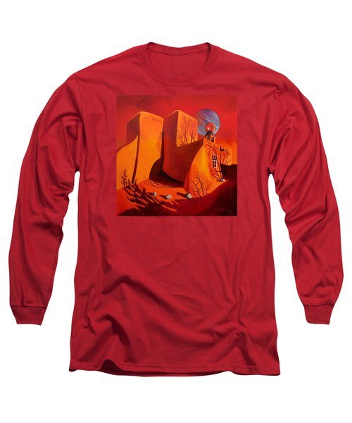 When Jupiter Aligns With Mars Long Sleeve T-Shirt by Art West