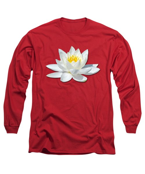White Lily 2 Long Sleeve T-Shirt