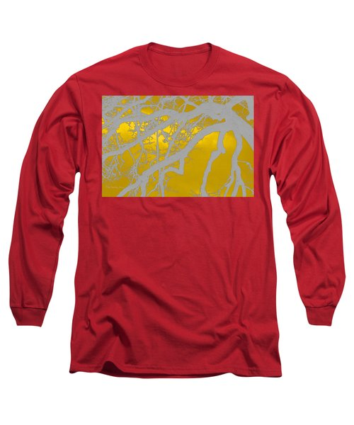 White Oak -yellow Orange Long Sleeve T-Shirt