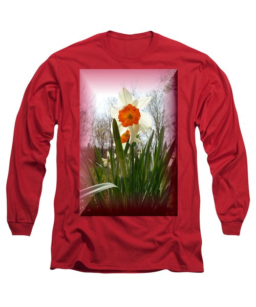 Who Planted Those Flowers Long Sleeve T-Shirt
