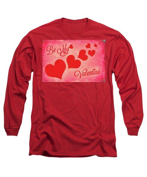 Whole Lotta Love Long Sleeve T-Shirt by Iryna Goodall