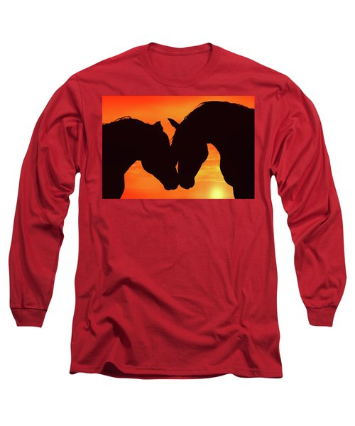 Wholeheartedly Long Sleeve T-Shirt by Iryna Goodall