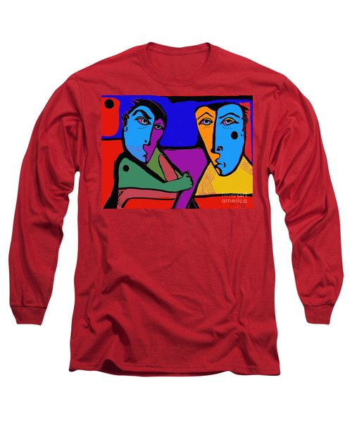 Who's Doing This? Long Sleeve T-Shirt