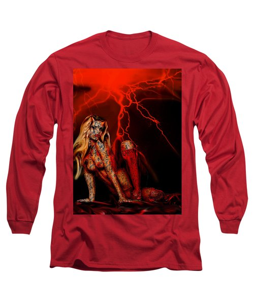 Wicked Beauty Long Sleeve T-Shirt by Tbone Oliver