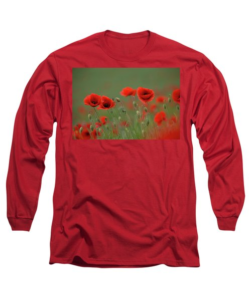 Wild Poppies Long Sleeve T-Shirt