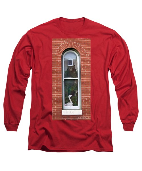 Long Sleeve T-Shirt featuring the photograph Window Dressing by Brian Wallace