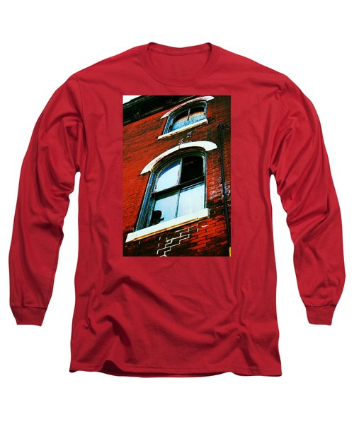 Long Sleeve T-Shirt featuring the photograph Windows by Christopher Woods