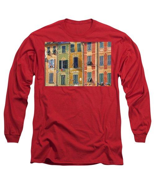 Windows Of Portofino Long Sleeve T-Shirt