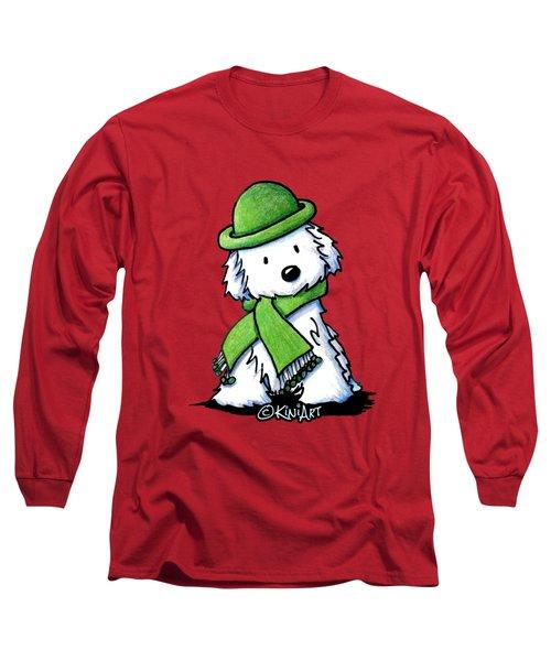 Winter Maltese Long Sleeve T-Shirt
