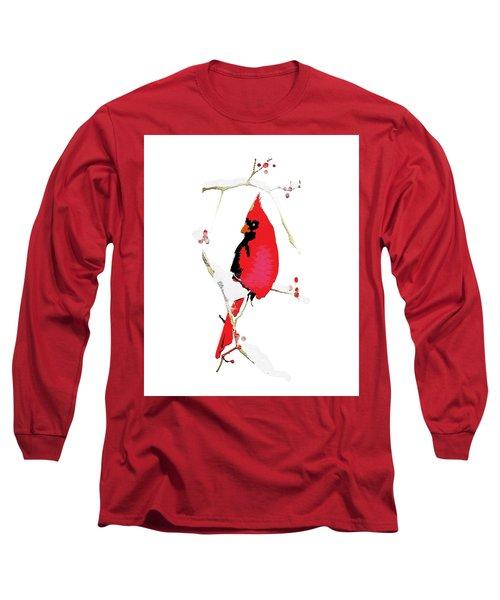 Winter Messenger Long Sleeve T-Shirt