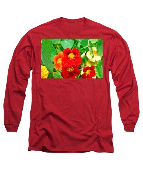 Winter Park Nasturtium 2 Long Sleeve T-Shirt