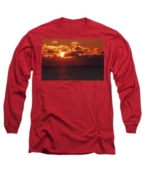 Winter Sunrise Long Sleeve T-Shirt by Greg Graham