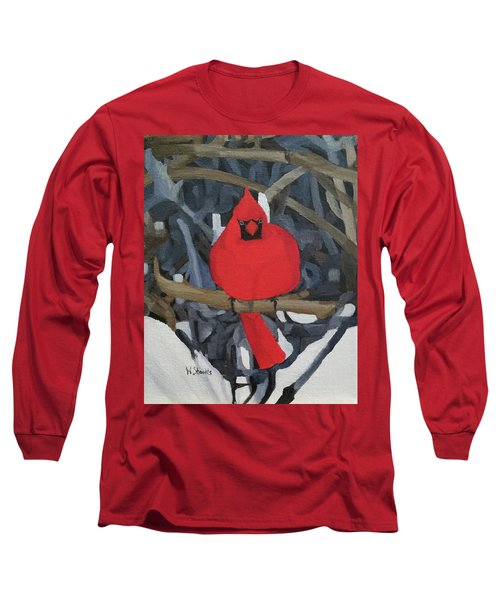 Winters Refuge Long Sleeve T-Shirt by Wendy Shoults