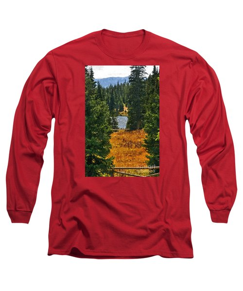 With A View Long Sleeve T-Shirt