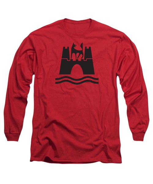 Wolfburg Logo Long Sleeve T-Shirt by Ed Jackson