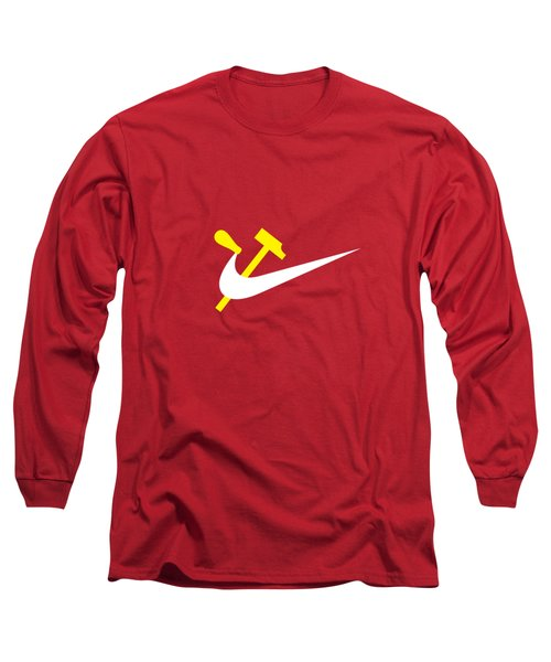 Work And Consume  Long Sleeve T-Shirt
