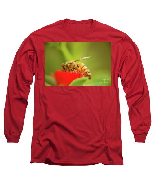 Long Sleeve T-Shirt featuring the photograph Worker Bee by Micah May