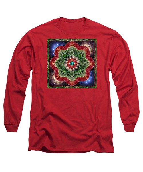 Long Sleeve T-Shirt featuring the photograph World-healer by Bell And Todd