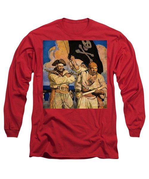 Wyeth: Treasure Island Long Sleeve T-Shirt