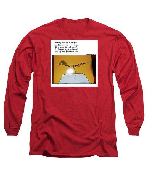 X-ray Bird Long Sleeve T-Shirt by Graham Harrop