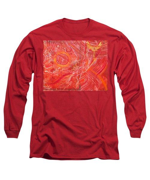 Yaweh El Shaddai Bottom Canvas Detail Long Sleeve T-Shirt