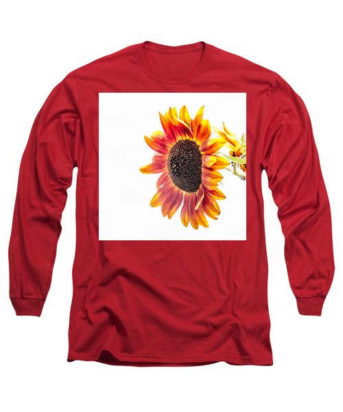 Long Sleeve T-Shirt featuring the photograph Yeah, I Hold On, I Hold On by Wade Brooks