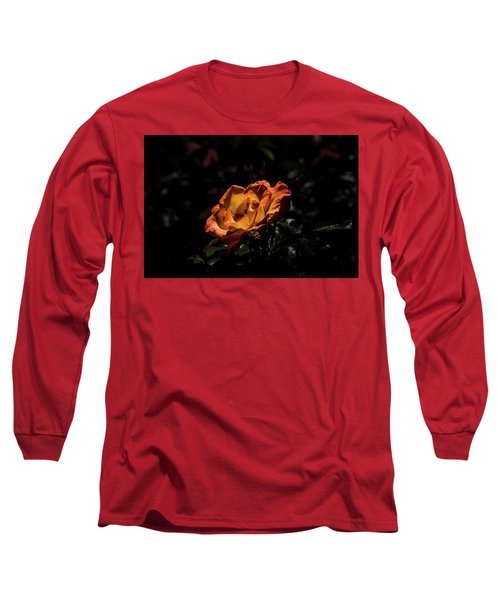 Yellow And Orange Long Sleeve T-Shirt by Jay Stockhaus