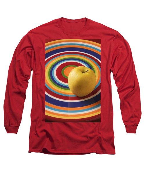 Yellow Apple  Long Sleeve T-Shirt