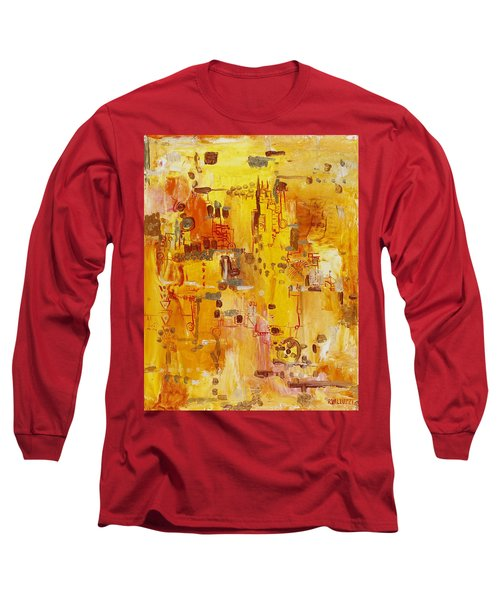 Yellow Conundrum Long Sleeve T-Shirt