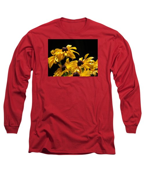 Yellow Flower 2 Long Sleeve T-Shirt